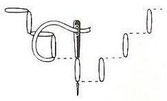 holbein stitch