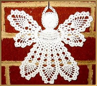 CROCHET CHRISTMAS ANGELS How To Crochet