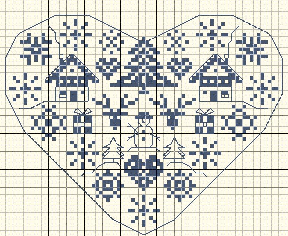 En el Blog de gazette94 está disponible el patrón a punto de cruz de