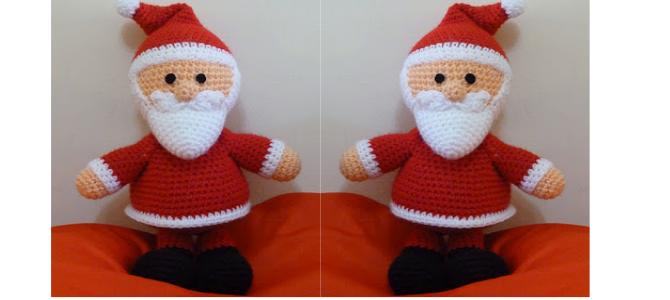 Amigurumi – Papa Noel