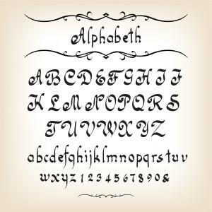 alfabetos para bordar