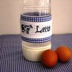 Decorazione per Bottiglia di Latte