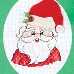 Come Ricamare una Cartolina di Natale a Punto Croce