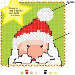 Ricamare Babbo Natale a Punto Croce