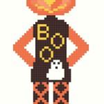 Happy Halloween da Ricamare a Punto Croce