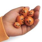 Zucche Halloween in Miniatura con Ghiande