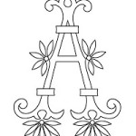 Alfabeto e Monogrammi – Schemi di Ricamo