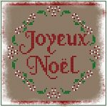 Ricama a Punto Croce Cartoline di Natale