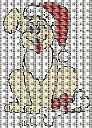 cagnolino natalizio