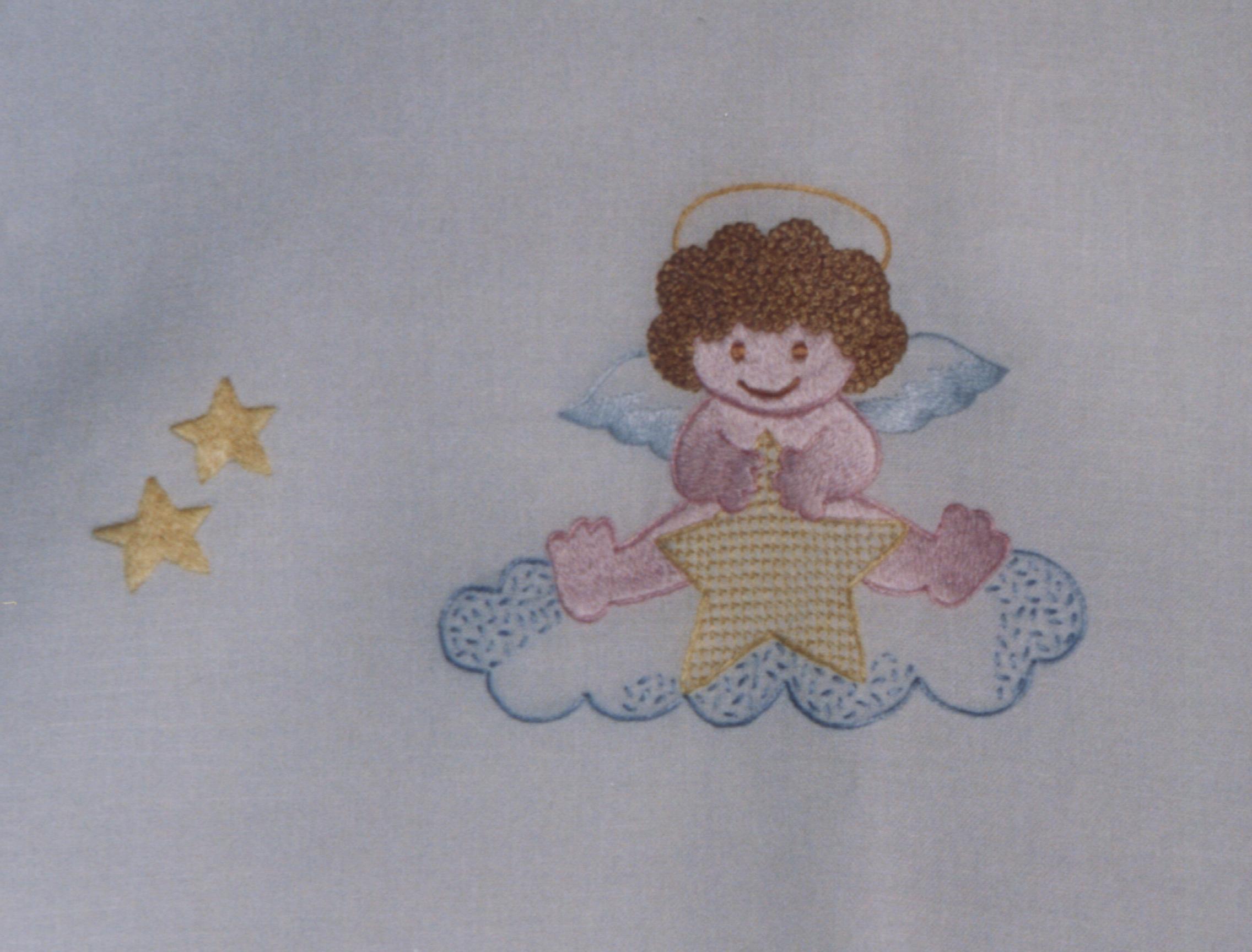 I lavori di maria chiara arte del ricamo for Ricami punto croce neonati