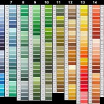 Tabelle di Conversione Colori Filati DMC