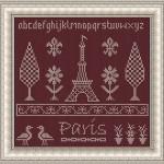 Schema a Punto Croce – Parigi