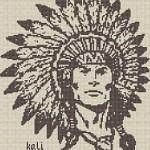 Punto Croce Schema di Ricamo – Indiano