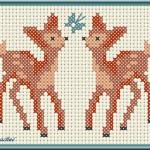 Punto Croce per Bambini – Cerbiatti