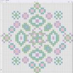 Punto Croce Schema di Ricamo – Disegno Geometrico
