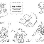 Schema di Ricamo per Bambini – Cagnolini