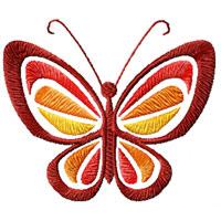Disegni gratuiti per macchine da cucire arte del ricamo for Farfalle da ricamare