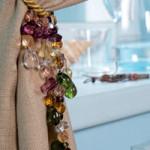 Decorazioni per Tende – Nastri e Perle Colorate