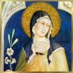Santa Chiara Protettrice delle Ricamatrici