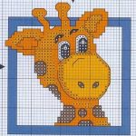 Schemi a Punto Croce per Bambini – Giraffe