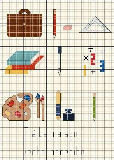 Schemi a punto croce per bambini scuola arte del ricamo for Schemi a punto croce per bambini