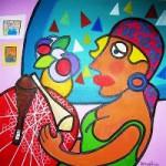 Donne nell'Arte – La Merlettaia