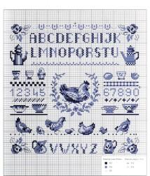 galline e alfabeto