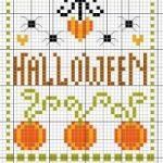 Schemi a Punto Croce Halloween