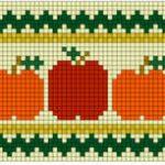Schemi a Punto Croce – Zucche Halloween