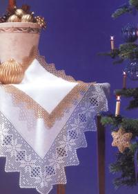 Bordura Uncinetto – Stelle di Natale