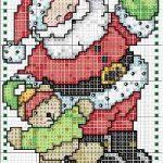 Schemi Punto Croce Babbo Natale – Parte Seconda