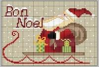 Babbo Natale Punto Croce Schemi Gratis.Schemi Punto Croce Babbo Natale Parte Seconda Arte Del Ricamo