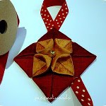 Origami in Stoffa – Decorazioni Natalizie