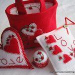 Creazioni in Feltro per San Valentino