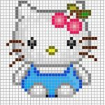Schemi a Punto Croce Hello Kitty
