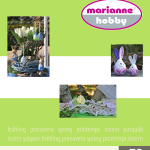 Catalogo Marianne Hobby – Primavera 2012