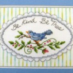 Quadro Punto Croce – Be Kind Be True