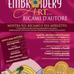 Embroidery Art – Mostra di Ricamo e Merletti a Gaeta