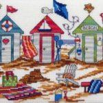 Quadro Punto Croce – Spiaggia