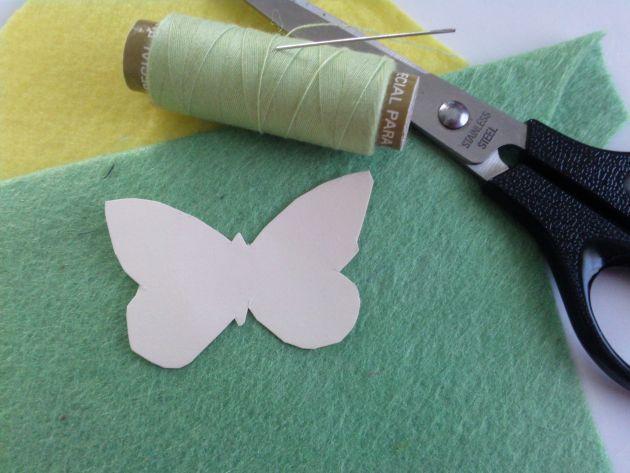 Come Creare Farfalle In Feltro Arte Del Ricamo