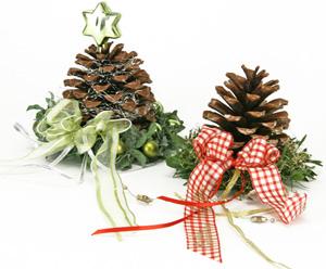Decorazioni per il natale arte del ricamo - Nastri decorativi natalizi ...