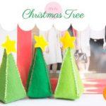 Come Realizzare Piccoli Alberi di Natale in Feltro