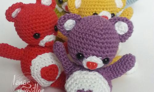 Amigurumi orsetto in pigiama | Dinosaur stuffed animal, Teddy bear ... | 300x500