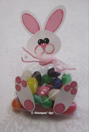 Confezioni per la pasqua coniglio porta cioccolatini - Modelli di coniglietto pasquale gratis ...