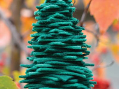 Come Realizzare un Albero di Natale in Feltro