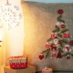 Natale  – Un Cuscino a Punto Croce