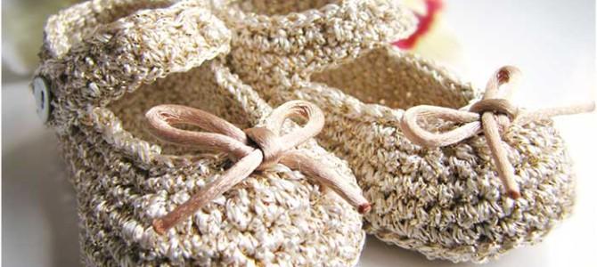 Come Realizzare Eleganti Scarpe Bebé all'Uncinetto