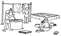 fenici lavorano la porpora