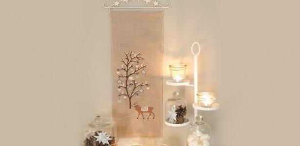 Natale – Pannello Murale da Ricamare a Punto Croce