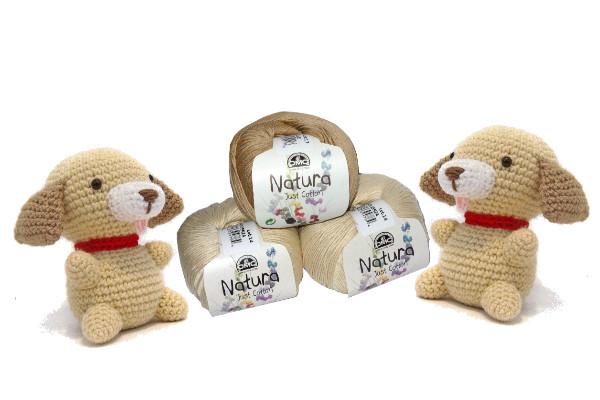 cagnolini amigurumi natura just cotton